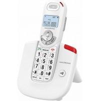 Telefono Cordless Facilitato Senior Nordmende EASYHOME500DECT Bianc Tasti Grandi