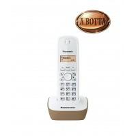Telefono Cordless Panasonic KXTG1611JTJ Avorio - Rubrica 50 Nomi Retroilluminato
