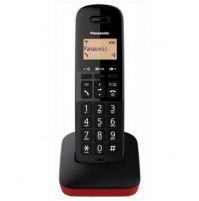 Telefono Cordless Panasonic KXTGB610JTR Nero/Rosso