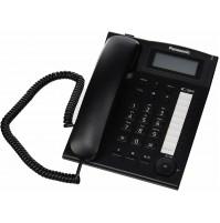 Telefono Fisso Aziendale Panasonic KX-TS880EXB Nero Sistema Telefonico Integrato