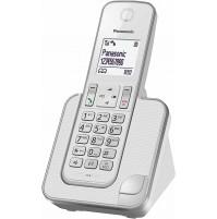 Telefono Fisso Cordless Panasonic KX-TGD310 Bianco Senza Filo e Segreteria