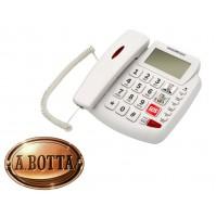 Telefono Fisso Facilitato Senior Nordmende EASYHOME200LCD Bianc Tasti Grandi SOS
