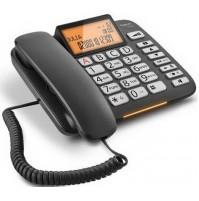 Telefono a Filo Siemens Gigaset DL580 Nero - Rubrica 99 Nomi Retroilluminato