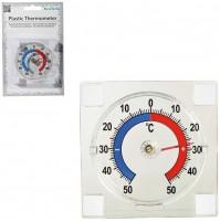 Termometro Analogico Temperatura Interna Esterna da - 50 °C a + 50 °C - 71/3063