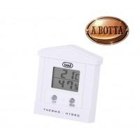 Termometro Digitale con Igrometro Trevi TE 3002 Bianco Temperatura Min e Max