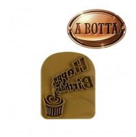 Toast Tattoos Happy Birthday Stampo per Toast Stampino per Toast Tostapane Pane