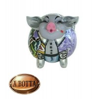 Tom's Drag Collection Scultura Animal Maiale Cedric 4449 - Statua Design Pig