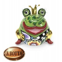 Tom's Drag Collection Scultura Animal Rana Frog King Marvin Gold 4435 - Statua