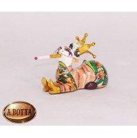 Tom's Drag Collection Scultura Cat Gatto Little Madeleine 3661 - Statua Design