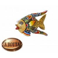 Tom's Drag Collection Scultura Maritime Pesce Oscar Gold M 4268 - Statua Design