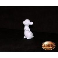 Topo in Porcellana Bianca da Dipingere e Confezionare - Bomboniere Decoupage