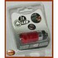 Torcia 1 LED ricaricabile da accendino accendisigari per auto