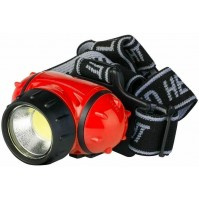 Torcia Lampada 1 LED da Fronte Testa POLY POOL PP3156 Rosso 3 Watt 180 Lumen