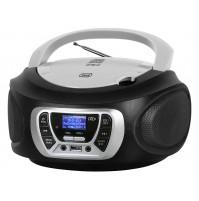 Trevi CMP 510 DAB Radio Stereo Portatile Boombox Nero Lettore CD USB Cuffia