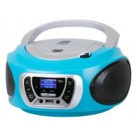 Trevi CMP 510 DAB Radio Stereo Portatile Boombox Turchese Lettore CD USB Cuffia