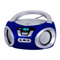 Trevi CMP 544 BT Radio Stereo Portatile Boombox Blu Lettore CD MP3 Bluetooth