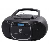 Trevi CMP 576 DAB Radio Stereo Portatile Digitale con Lettore CD e Cassetta Nero