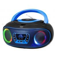 Trevi CMP 583 DAB Stereo Portatile Blu con Radio DAB DAB+ Lettore CD USB Cuffie