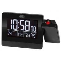 Trevi EC 884 PJ Orologio Sveglia Digitale Nero con Proiezione Orario Temperatura