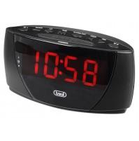Trevi EC 885 Orologio con Doppia Sveglia Digitale e Grande Display Nero Corrente