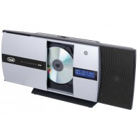 Trevi HCV 10D35 DAB Mini Stereo Hi-Fi Tavolo o Parete Bluetooth Lettore CD Radio