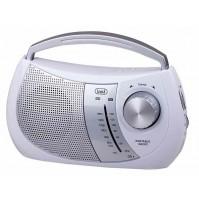 Trevi RA 764 Radio Portatile a 2 Bande Bianco AM FM con Presa Cuffia OFFERTA