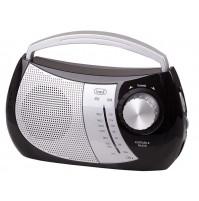 Trevi RA 764 Radio Portatile a 2 Bande Nero AM FM con Presa Cuffia OFFERTA Nuovo