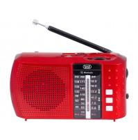 Trevi RA 7F20 BT Radio Portatile Multibanda Rosso Bluetooth MP3
