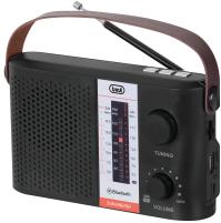 Trevi RA 7F25 BT Radio Portatile Multibanda Nero Bluetooth con Pannello Solare