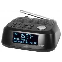 Trevi RC 80D4DAB Radiosveglia AM FM Elettronica Digitale Nero Orologio DAB+