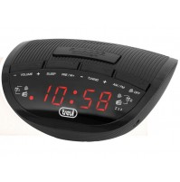 Trevi RC 825 D Radiosveglia AM FM Elettronica Digitale Nero Orologio 2 Sveglie