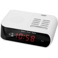 Trevi RC 827 D Radiosveglia Elettronica Digitale Bianco Orologio Sveglia NUOVO