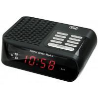 Trevi RC 827 D Radiosveglia Elettronica Digitale Nero Orologio Sveglia NUOVO