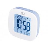 Trevi SLD 3860 Orologio Sveglia Digitale Blu con Termometro Calendario Snooze