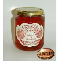 Vasetto Miele di MILLEFIORI Primaverile 1 Kg Artigianale 100% ITALIANO - 1000 Gr